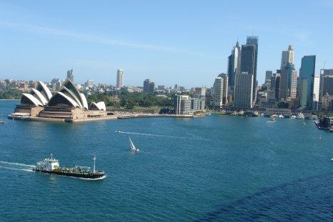Baie de Sydney côté centre ville