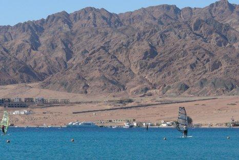 La baie de Dahab, déserte autrefois